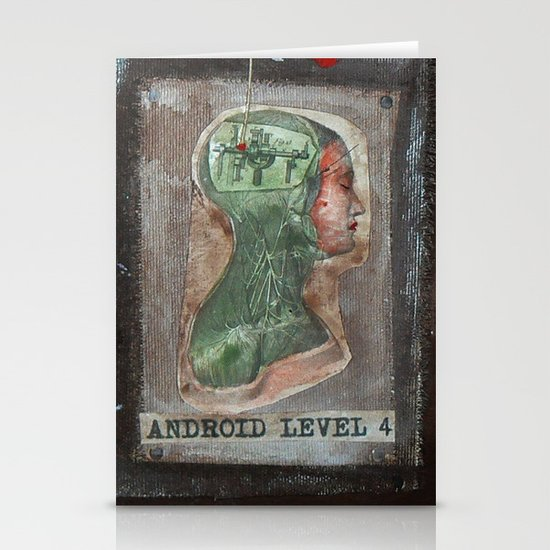 ANDROID LEVEL 4 Stationery Cards