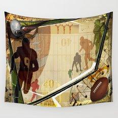 Football Wall Tapestry