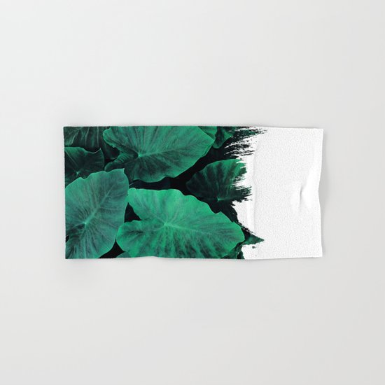 Painting on Jungle Hand & Bath Towel