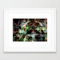 "illuminati Framed Art Prints featuring Illuminati by Chris ""MUG5"" Maguire"
