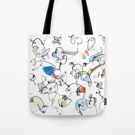 The Abstract Fun Colouring Book Tote Bag