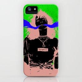 Notice me Senpai iPhone Case