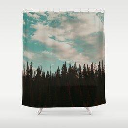 Grand Teton Pines Shower Curtain