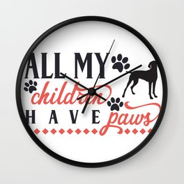 ALL MY CHILDREN Wall Clock