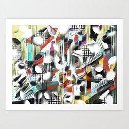 Vagueness Art Print