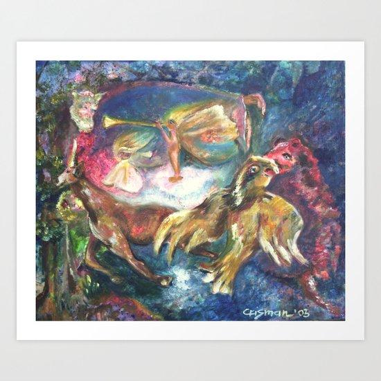 Fairy King Art Print