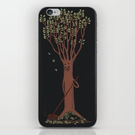 Mind your own business iPhone Skin