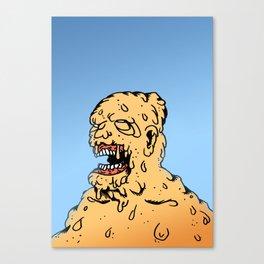 CLEAR THE AIR. Canvas Print