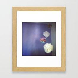 Cupcake Poms Framed Art Print