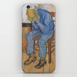 Vincent van Gogh - Sorrowing Old Man (At Eternity's Gate) iPhone Skin