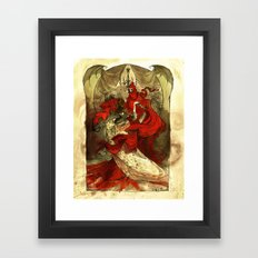 Masque of the Red Death Framed Art Print