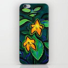 Orange Jewelweed 2.0 iPhone Skin