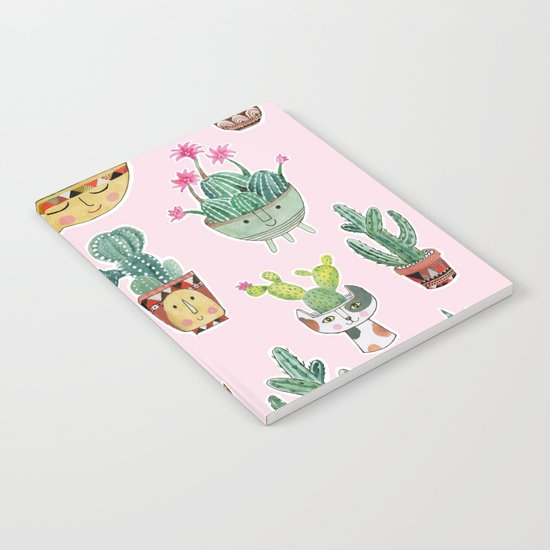 Cactus Pots Notebook