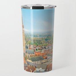 Copy of Bruges cityscape, Belgium Travel Mug