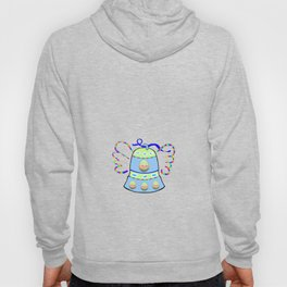 Winged Bell and  Egg Hoody