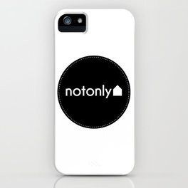 notonly circulo iPhone Case