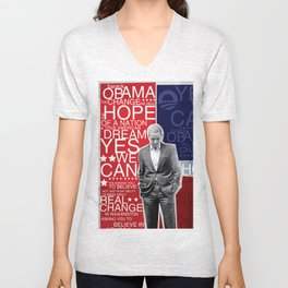 Barack Obama Unisex V-Neck