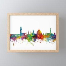 Florence Italy Skyline Framed Mini Art Print