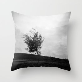Dartmoor Tree Throw Pillow