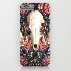 Fox Skulls And Tigerlily Slim Case iPhone 6s