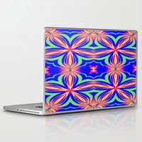 psychedelic Laptop & iPad Skins featuring Psychedelic  by 2sweet4words Designs