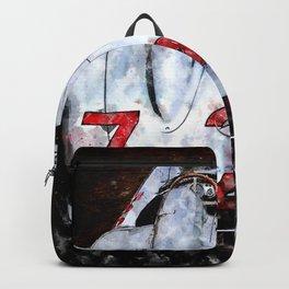 300 SLR 722 Mille Miglia Backpack