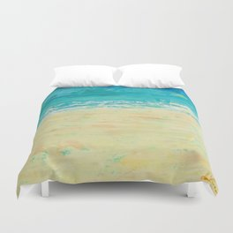 Get to the Beach! Duvet Cover