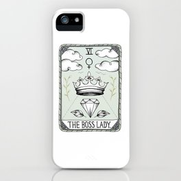 The Boss Lady iPhone Case
