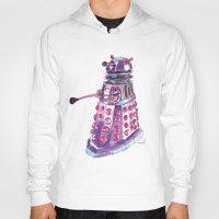 dalek Hoodies featuring Dalek by BlueAcorn
