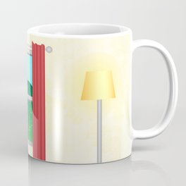 Summer window view Coffee Mug