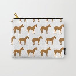 horses pattern Carry-All Pouch