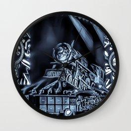 Runaway Train - Graphic 3 Wall Clock