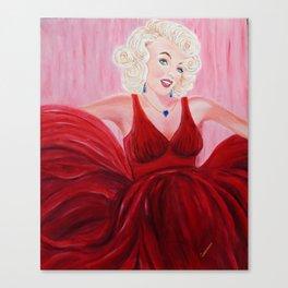 Dazzling Marilyne | Éblouissante Marilyne Canvas Print