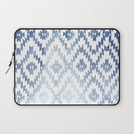 Indigo Ikat Print 3 Laptop Sleeve