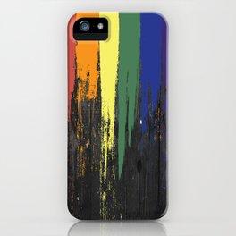 Rainbow Paint iPhone Case