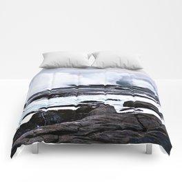 Ferocious Ocean -- Peggy's Cove, Nova Scotia  Comforters