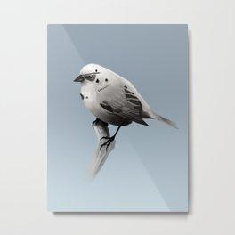 Bird Trooper Metal Print