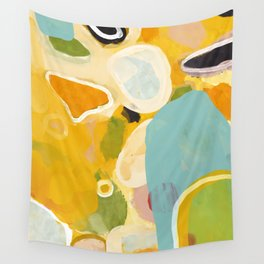 sunshine fall garden leaves Wall Tapestry