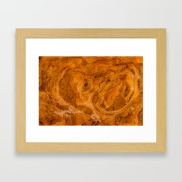 Natural Stone Art-The Cistern, Gold Butte, NV Framed Art Print