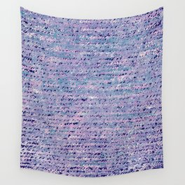 the stars died // text pattern 02 Wall Tapestry