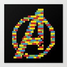 Assembled (Colour) Canvas Print