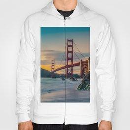 Golden Gate Bridge at Sunrise Hoody