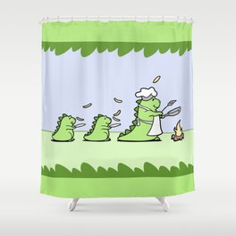 Come and Get It! Shower Curtain