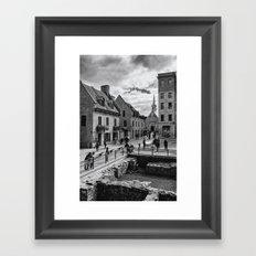 Old Quebec City Framed Art Print