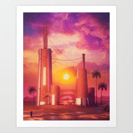 Another sun Art Print
