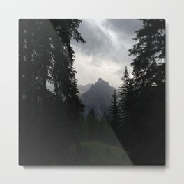 Picture Mountains Metal Print