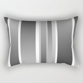 Color Black gray Rectangular Pillow