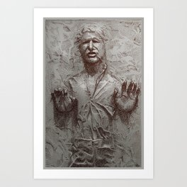 Carbonite Art Print