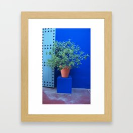 Maison Yves St Laurent Marrakech Framed Art Print