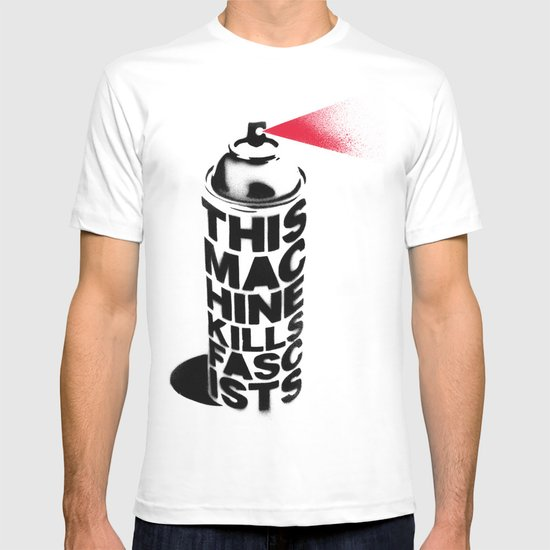 this machine kills fascists tshirt